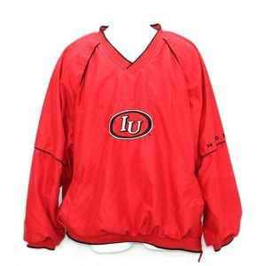 Genuine Stuff Jacket Indiana Hoosiers IU  Pullover